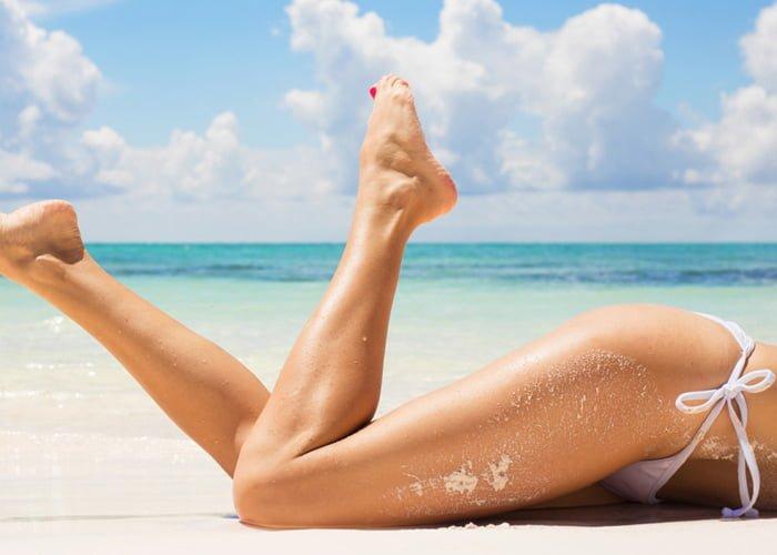 Melhor depilação para praia